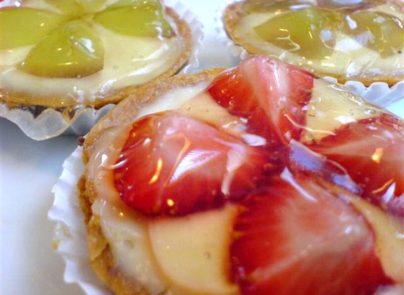 Mini Tortelete de Frutas
