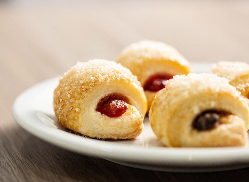 Mini croissant doce
