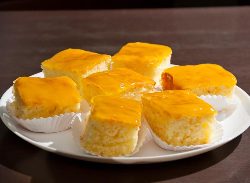 Bolo diet de laranja